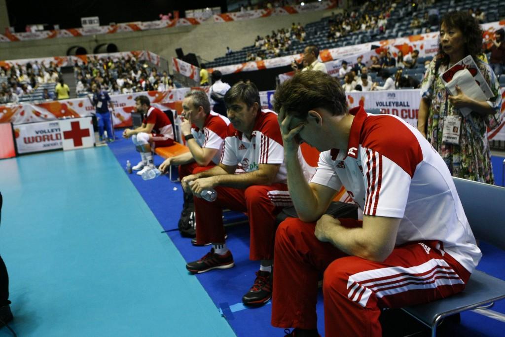 PolandheadcoachANTIGAStephanelostthegamelostthegame