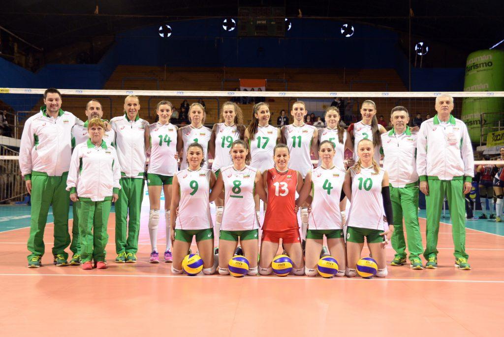 България започна с победа  над Доминиканска република с 3-2