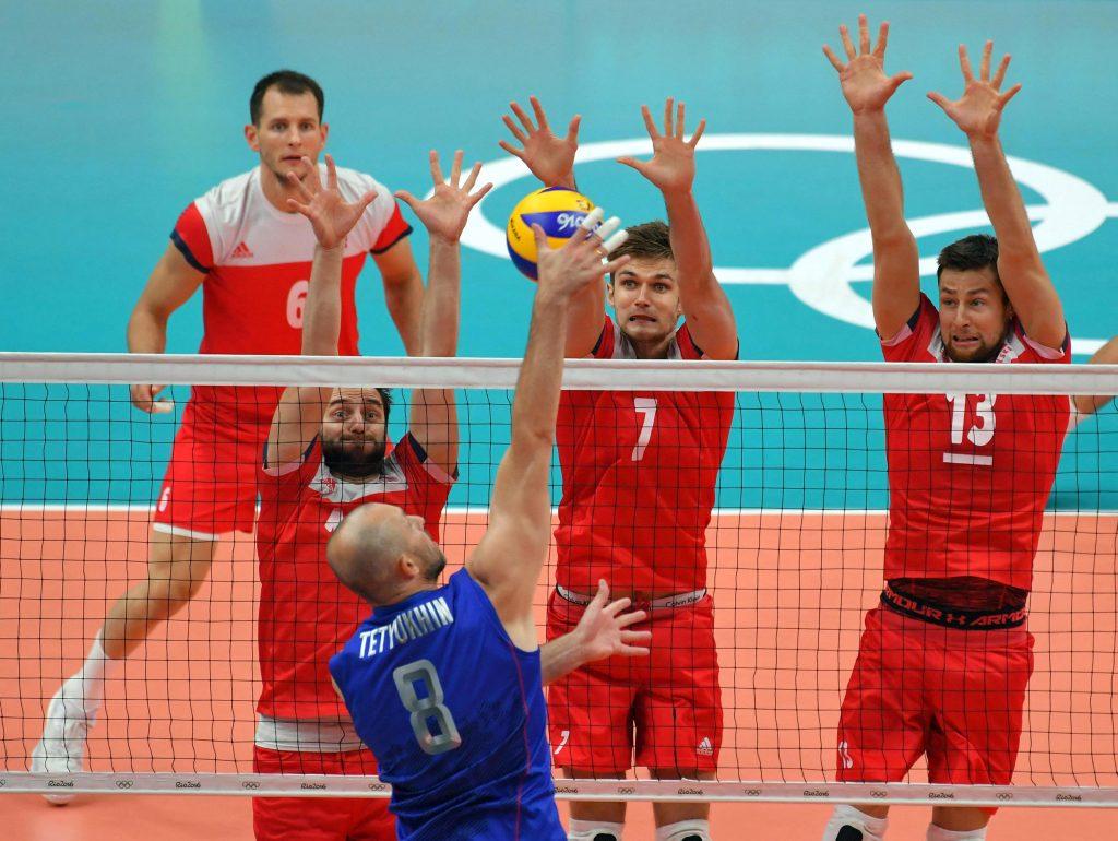 Sergey Tetyukhin spikes