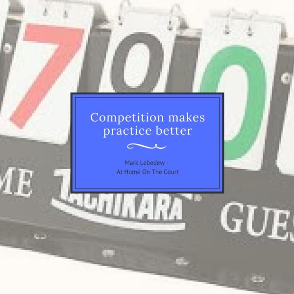 Конкуренцията прави тренировката по добра