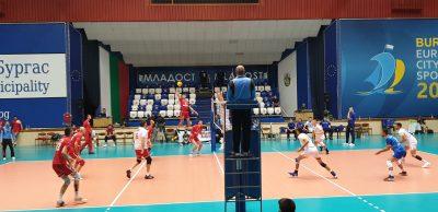 Национална Волейболна Лига сезон 2020-2021 турнир Бургас