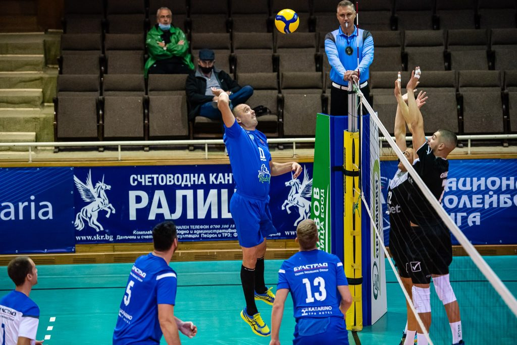 Национална Волейболна Лига сезон 20/21 плейоф Стара Загора