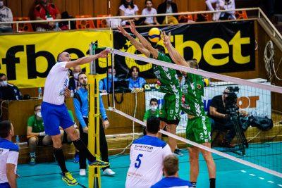 Национална Волейболна Лига сезон 2020-2021 турнир Добрич втори ден