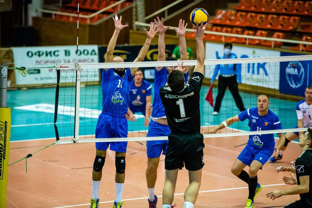 Национална Волейболна Лига сезон 2020-2021 турнир Добрич трети ден