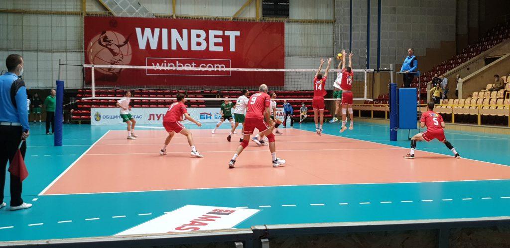 Национална Волейболна Лига  сезон 2020-2021  първи плейоф Русе