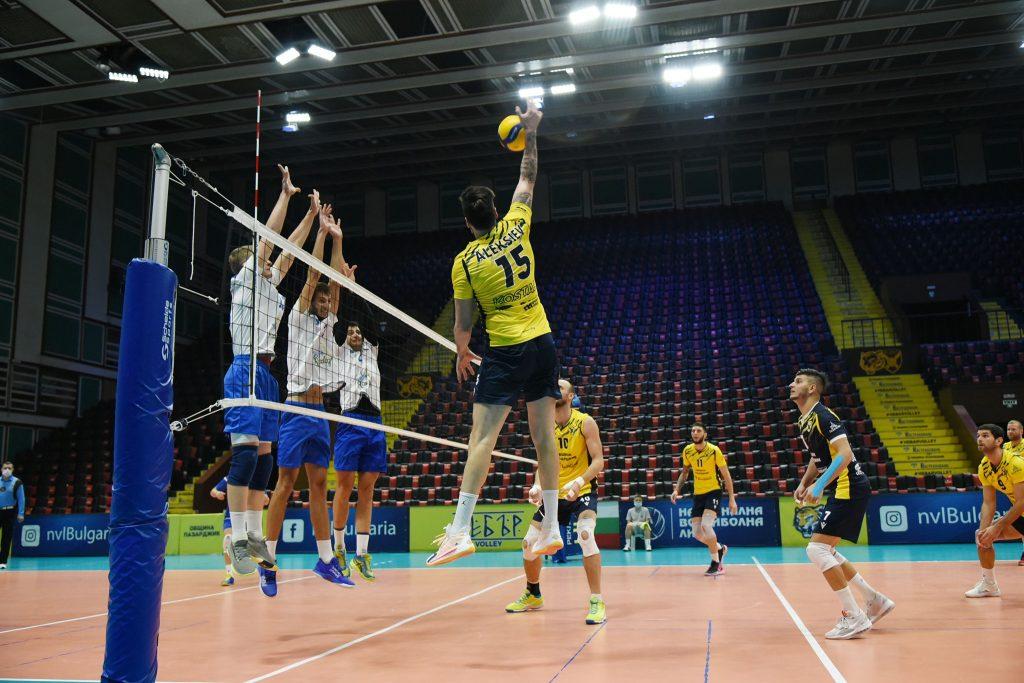 Суперлига на България -първа осмица
