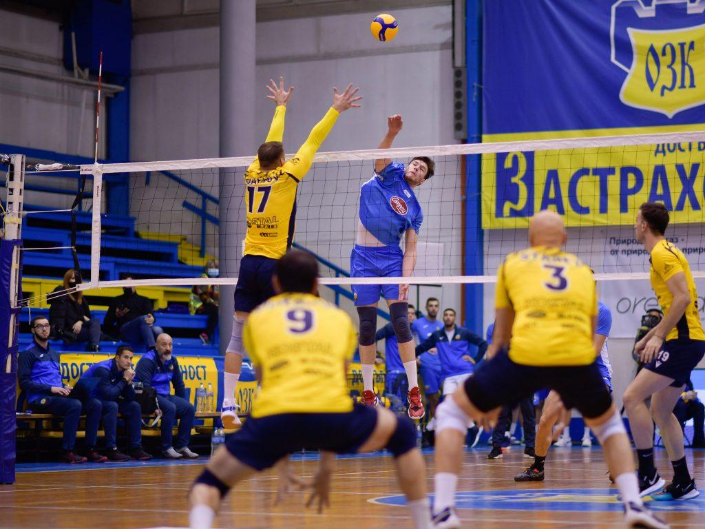 Суперлига на България- първа осмица Монтана-Хебър
