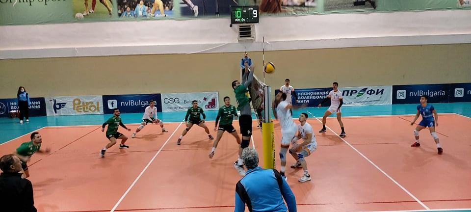 Суперлига на България – втора осмица Тетевен-Дунав