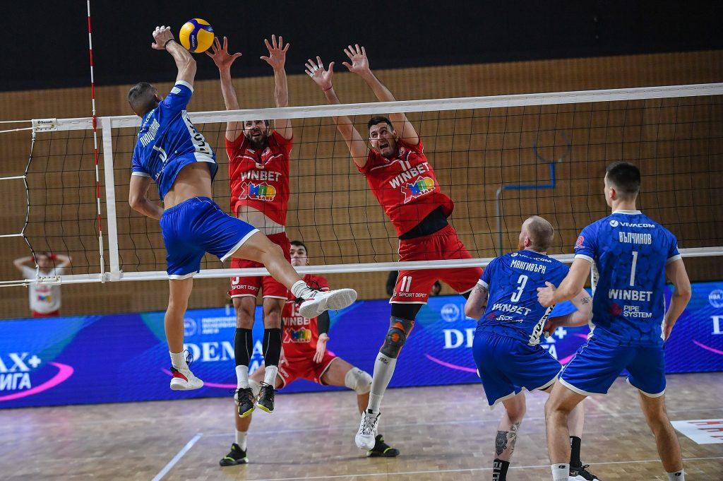 Суперлига на България първа осмица Левски-ЦСКА