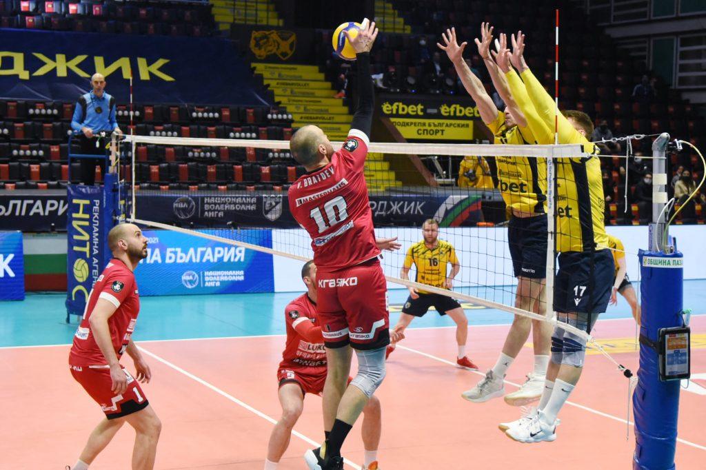 Купа на България полуфинали – мъже