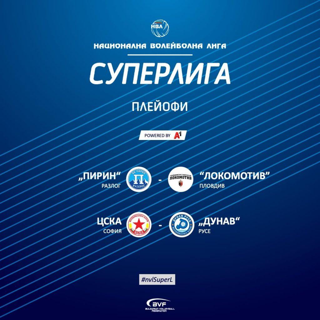 Суперлига на България -предварителни плейофи