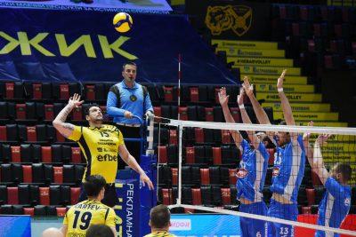 Суперлига на България WINBET Плейофи 1/2 финал Хебър- Монтана трети мач