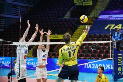 Суперлига на България WINBET Плейофи 1/2 финал Хебър- Монтана