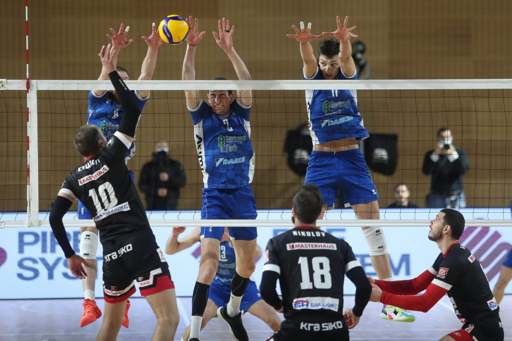 Суперлига на България WINBET Плейофи 1/2 финал Левски-Нефтохимик