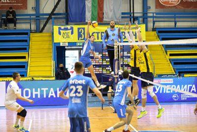 Суперлига на България WINBET Плейофи 1/2 финал Монтана-Хебър