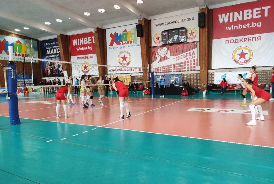 Демакслига  жени1/2финал трети мач ЦСКА-Казанлък