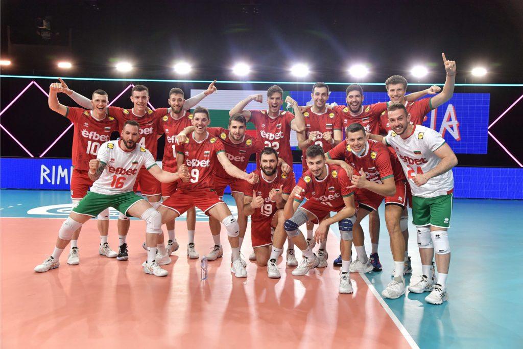 България с първа победа във VNL21!
