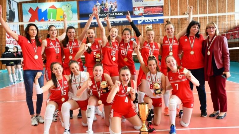 ЦСКА със шампионската титла при девойките U20!
