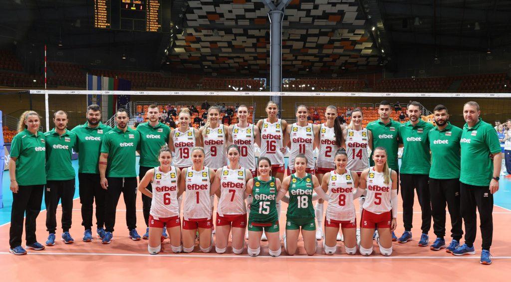 Golden League 21W България с чиста победа над Словакия!
