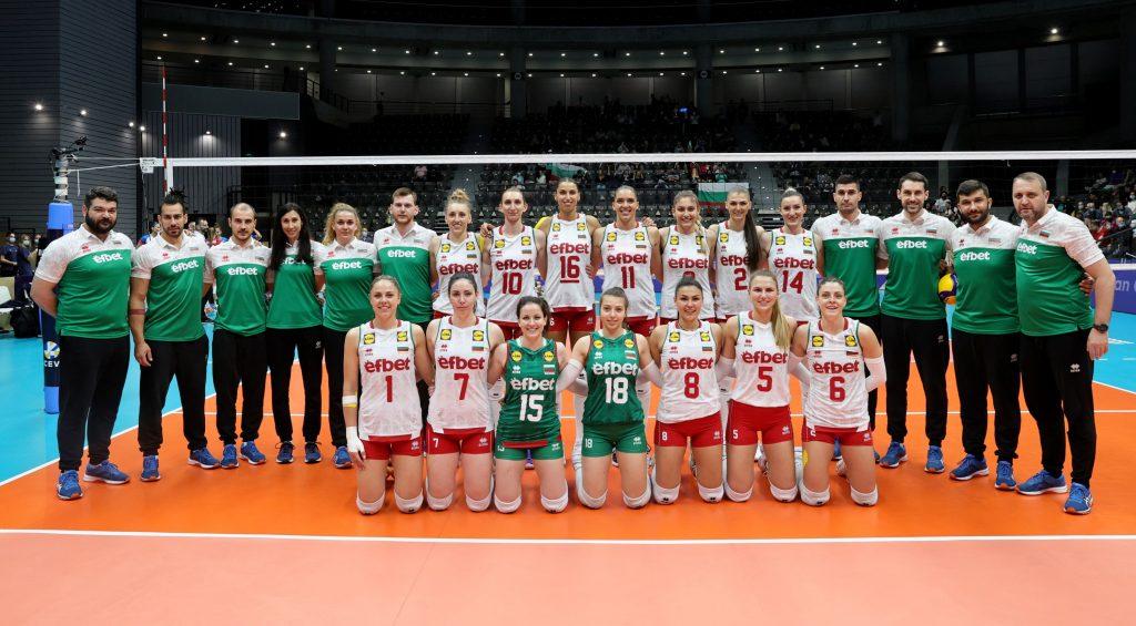 България се цели в медал от европейско първенство след 20 години!