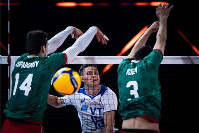 VNL21 M Експериментална България загуби с 0-3 от разхождаща се Русия!
