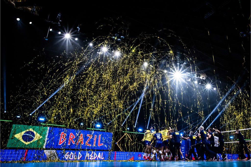 VNL21 M Бразилия триумфира с купата!