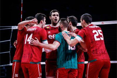 VNL21 M България претърпя поражение  от Аржентина с 1-3 гейма!