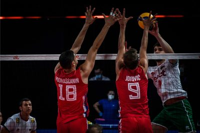 VNL 21 M България оново не успя, нова загуба с 0-3 от Сърбия!