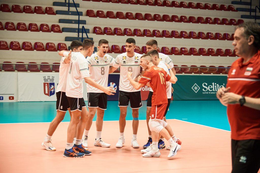 EuroVolley21 U17 M България победи Австрия с 3-1!