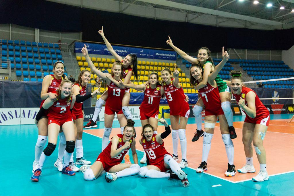 EuroVolley 21 U16W България с нова победа над Хърватия с 3-2!