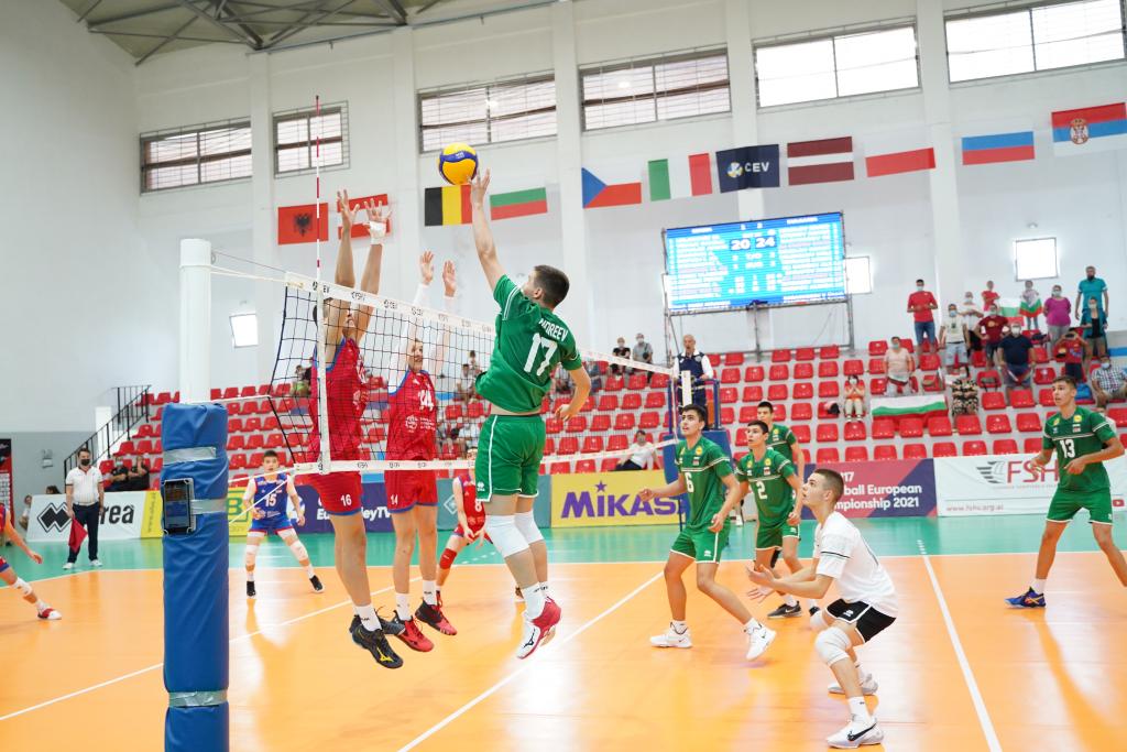 EuroVolley21 U17M България завърши на пето място след победа над Сърбия с 3-1!