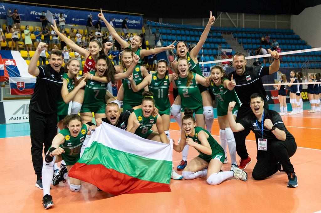 EuroVolley 21 U16 България в битка за медалите след победа над Словакия с 3-1!
