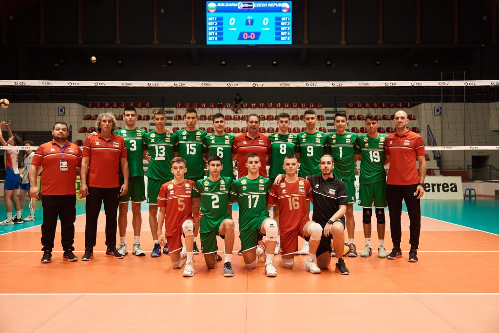 EuroVolley21 U17M България загуби от Чехия с 2-3 на старта!