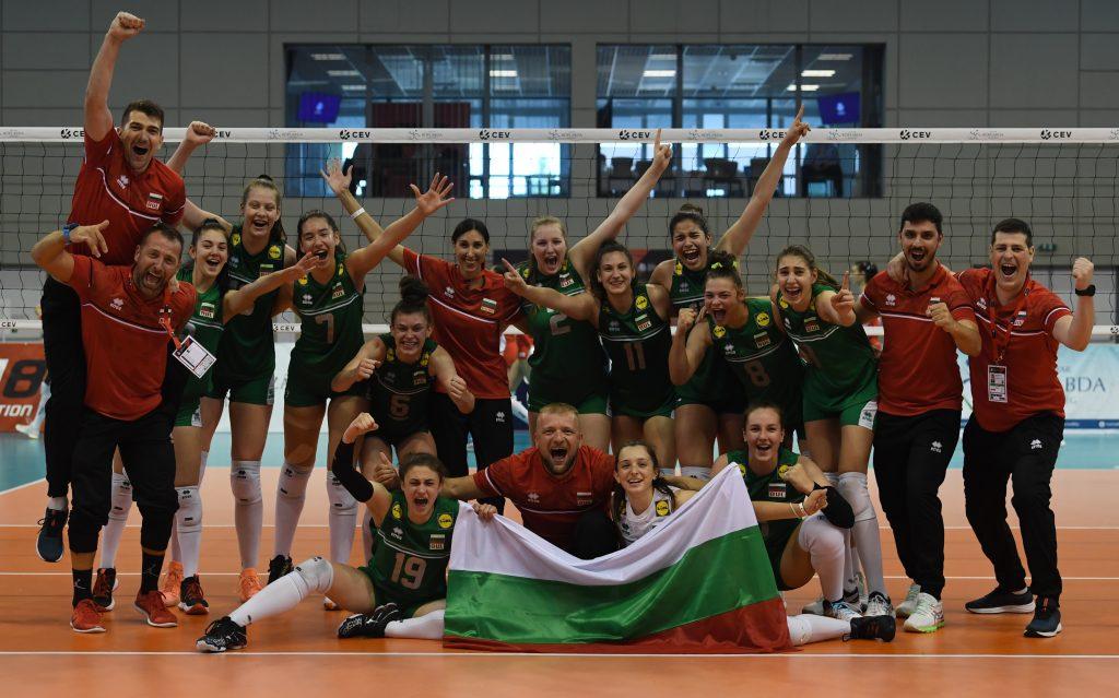EuroVolley21 U16W България спечели бронзовите медали побеждавайки Турция с 3-2 гейма!