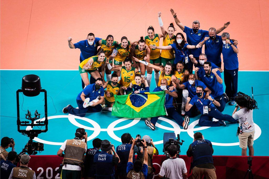 Olimpic games Tokyo 2020 Бразилия се класира за финал при жените, побеждавайки Корея с 3-0.