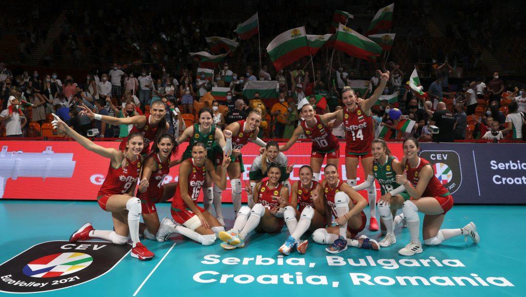 EuroVolley21 W България с втора победа!