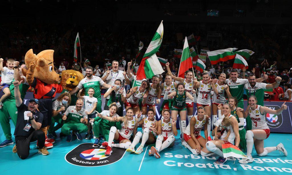 EuroVolley21W България продължава да мечтае!