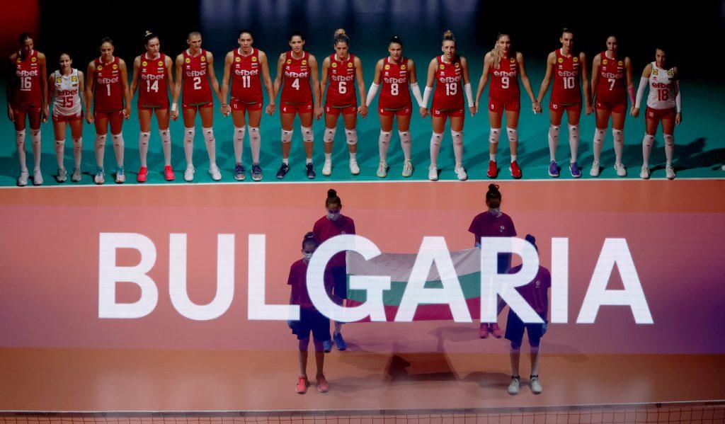 EuroVolley21W България на пътя на победата!
