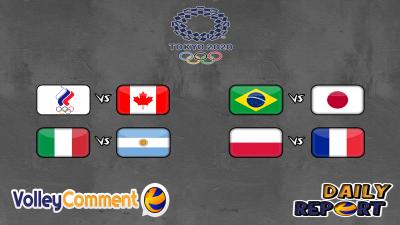 Olimpic games Tokyo 2020 quarterfinals M