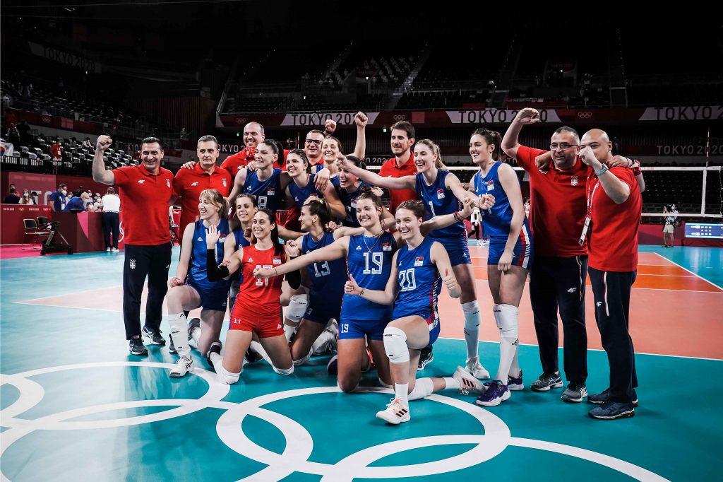 Olimpic games Tokyo 2020 Сърбия спечели бронзовите медали при жените!