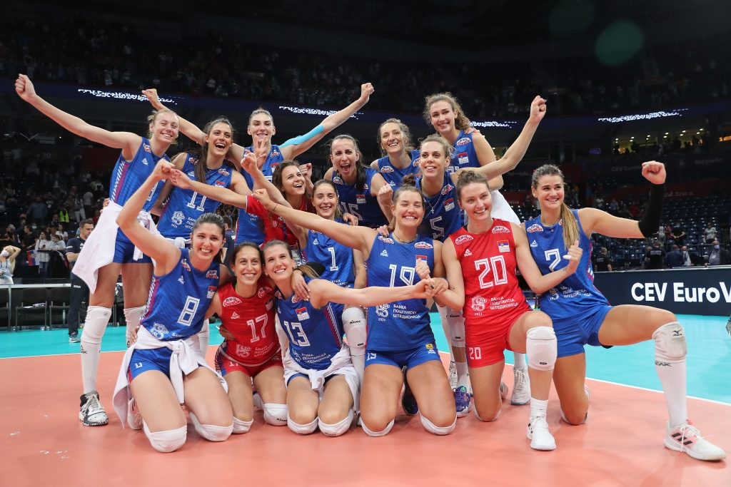 EuroVolley21W  Полуфинали в Штарк Арена Белград!
