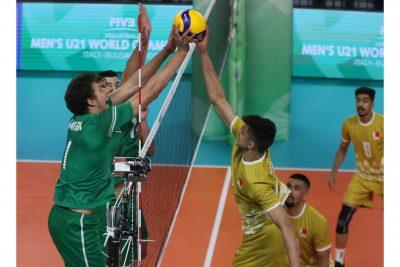 World championship U 21 България започна с победа!
