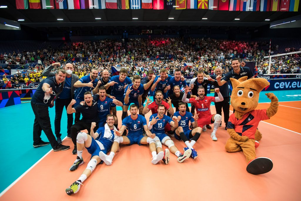 EuroVolley21 Ясни за четвъртфиналните двойки. Чехия сътвори сензация отстранявайки Франция с 3-0 гейма!