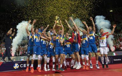 EuroVolley21M  Италия триуфира с титлата!