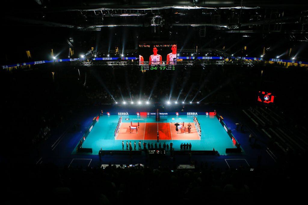 "EuroVolley21W Четвъртфинали в ""Штарк Арена"" Белград"