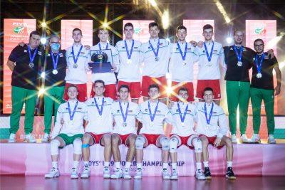 World champs U19 Сребърна България!